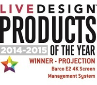 barco e2 product of the year